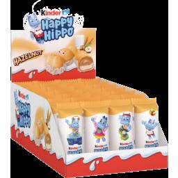 Photo of Kinder Happy Hippo Hazelnut Biscuit Single Pack 20.7gx28