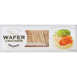 Photo of OB Finest Wafer Crackers Original 100g