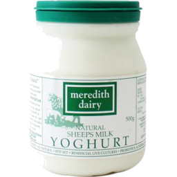 Photo of Meredith Dairy Natural Sheep Yoghurt 500g