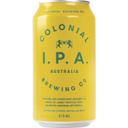 Photo of Colonial Brewing Co. IPA Cans