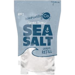 Photo of Community Co Sea Salt Grinder Refill 400g