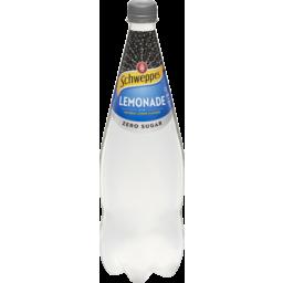 Photo of Schweppes Lemonade Zero Sugar 1.1l