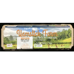 Photo of Yamstick Farms Organic Eggs 600gm