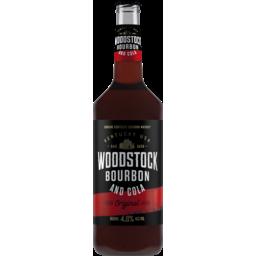 Photo of Woodstock Bourbon & Cola 4.8% Bottles
