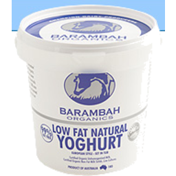 Photo of Barambah Low Fat Natural Organic Yoghurt 500g