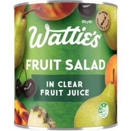 Photo of Watties Fruit Salad In Clear Fruit Juice 820g
