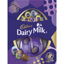 Photo of Cadbury Dairy Milk Easter Egg Gift Box 176g 176g