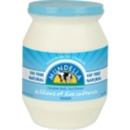 Photo of Mundella Yoghurt 99.7% Fat Free Natural 500g