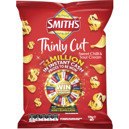 Photo of Smith's Thinly Cut Sweet Chilli & Sour Cream 175g