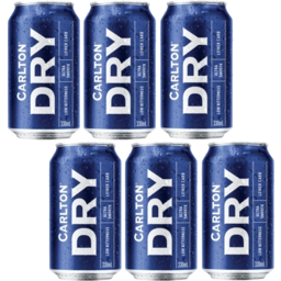 Photo of Carlton Dry Cans