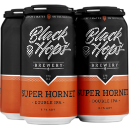 Photo of Black Hops Super Hornet Iipa Cans
