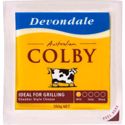 Photo of D/Dale Chse Colby Chd Blk 250gm