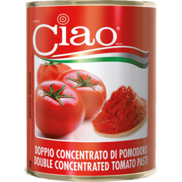 Photo of Ciao Double Concentrated Tomato Paste 140g