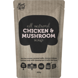 Photo of Hart & Soul All Natural Chicken & Mushroom Soup 400gm