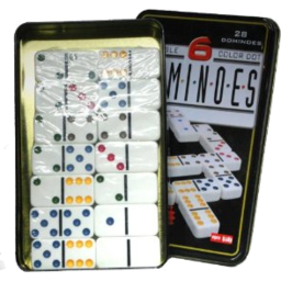 Photo of Dominoes D6 In Tin