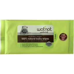 Photo of Wotnot Wipes - Baby (Disposable)
