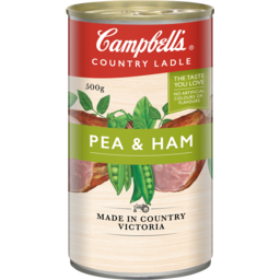 Photo of Campbells Soup Country Ladle Pea & Ham 500g