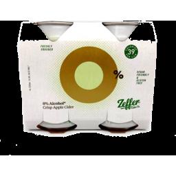 Photo of Zeffer 0% Crisp Apple Cider 4 Pack