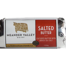 Photo of Meander Valley Salted Butter 150g