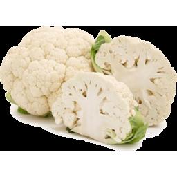 Photo of cauliflower Half