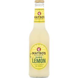 Photo of Matsos Hard Lemon Bottles