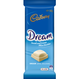 Photo of Cadbury Dream White Chocolate 180g