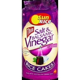 Photo of SunRice Salt & Balsamic Vinegar Rice Cakes 195gm