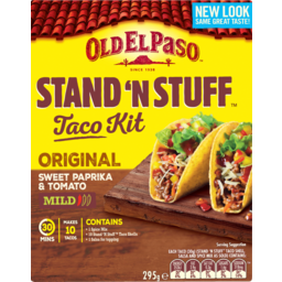 Photo of Old El Paso Stand'n Stuff Kit (10 Pack)