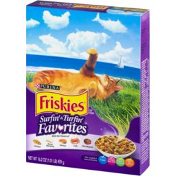 Photo of Purina Friskies Cat Food Surfin' & Turfin' Favorites