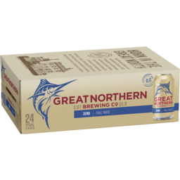 Photo of Great Northern Zero Can 375ml 24PK