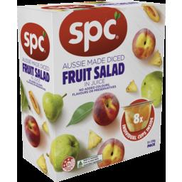 Photo of SPC Diced Fruit Salad in Juice 8 pack