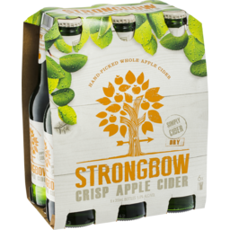 Photo of Strongbow Crisp Apple Cider Bottles