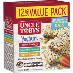Photo of Uncle Tobys Yoghurt Variety Bars 12 Pack