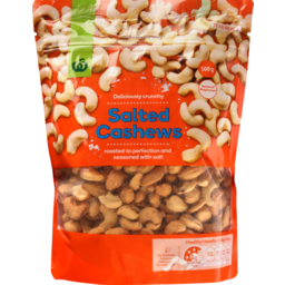 Photo of Homebrand Cashews Salted 500g