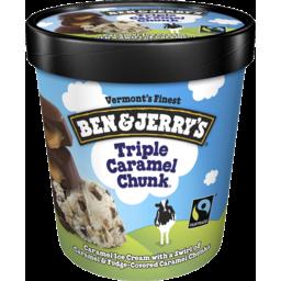 Photo of Ben & Jerrys Triple Caramel Chunk 458ml