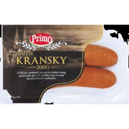 Photo of Primo Kransky Cheese 200g