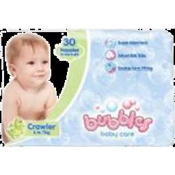 Photo of Bubbles Crawler Nappies 30pk