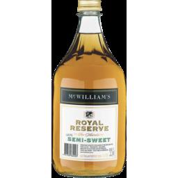 Photo of McWilliam's Royal Reserve Semi Sweet