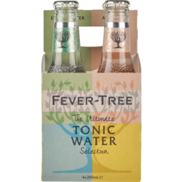 Photo of Fever Tree Tonic Variety Bottles