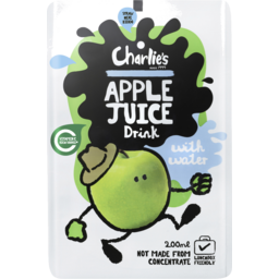 Photo of Charlies Juice Blackcurrant & Apple Kids 200ml
