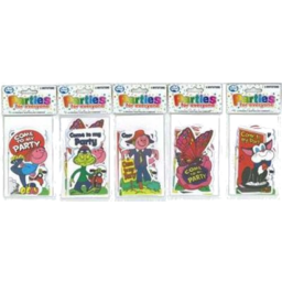 Photo of ALPEN PARTY INVITATIONS CHARACTER- VARIOUS 6PK