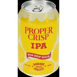 Photo of Garage Project Beer Proper Crisp Ipa 330ml