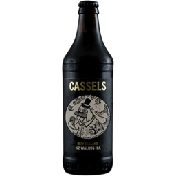 Photo of Cassels and Sons Beer NZ Walrus IPA 518ml