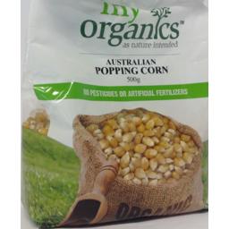 Photo of My Organics Popping Corn Kernels (500g)