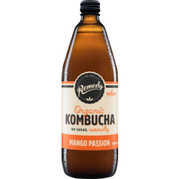 Photo of Remedy Kombucha Mango Passion 750ml