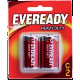 Photo of Eveready Red Heavy Duty C 2pk