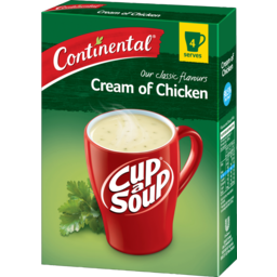 Photo of Continental Cup A Soup Cream Of Chicken 4x75g