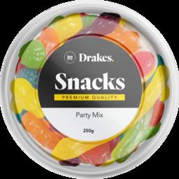 Photo of Drakes Snacks Party Mix Tub 250g