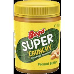 Photo of Bega Super Crunchy Peanut Butter 470g