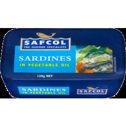 Photo of Saf Sardines In Oil 120gm